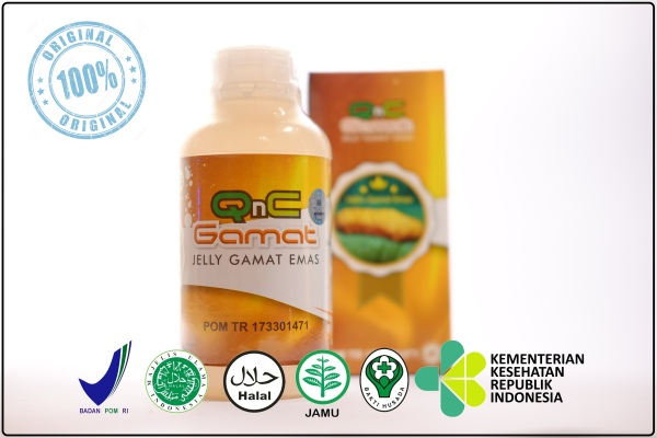 QnC Jelly Gamat 100% Original